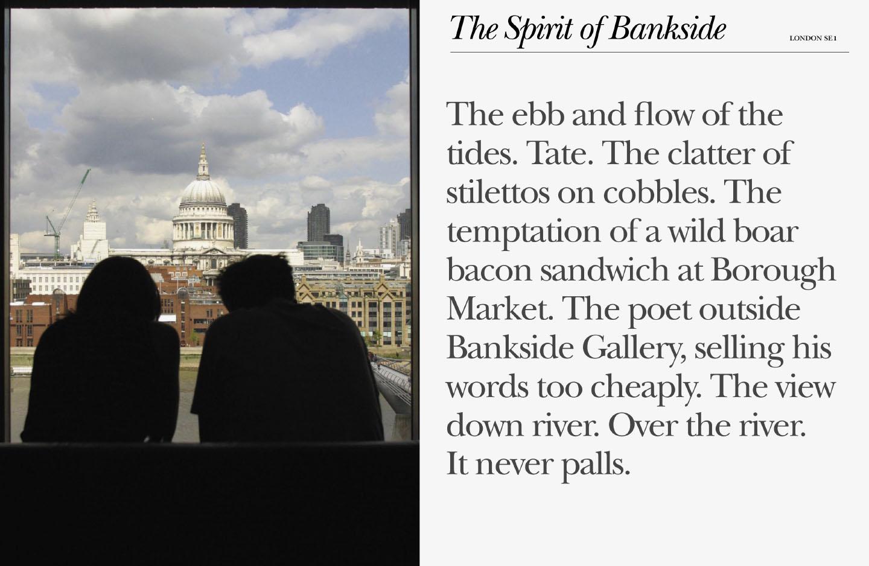 Bankside, London