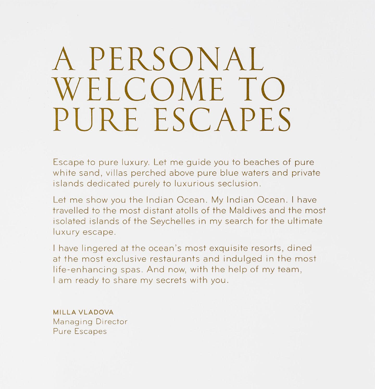 Pure Escapes
